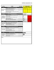 Office-5S-checklist - PLS Office 5S Safety Audit Form Draft