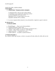 SPAN 203 Exam 1 Review Key