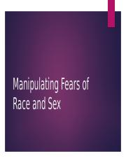 13 - Manipulating the Fear of Sex (2)