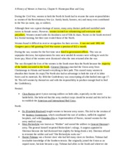 Women's CH9 Notes