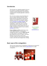 fire safety and fire extingushingطفايات