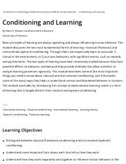 Conditioning and Learning | Noba.pdf