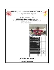 Format of Laboratory Report v2.0 - Copy