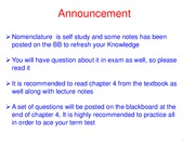 Chapter 4-Lecture Notes