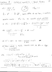 Lecture 8 Handwritten Notes