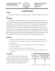 4A-Flakiness Index