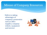 Misuse-of-Company-Resources