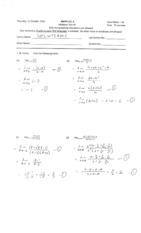 Math 121 Fall 2012 - Midterm Test #2 (solutions)