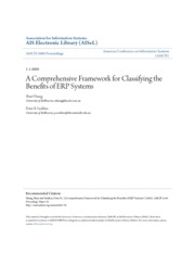 A Comprehensive Framework for Classifying the