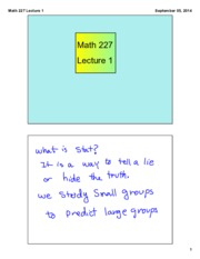 Math 227 Lecture 1