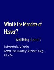 05 What is The Mandate of Heaven.pptx
