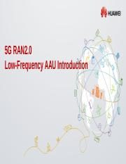 19A Low-Frequency AAU Training Slide 2018.09.14.pptx