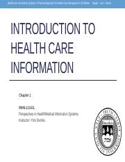Week_1_Introduction_to_Health_Care_Information_Chapter_1
