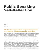 Public Speaking Self Reflection Template.docx