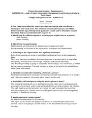 Felippe Arruda_S40054174_Project Communication – Assessment 1.docx