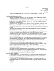Notes-the great west and the agricultural revolution