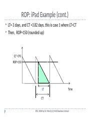 ROP for iPad example