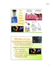 Microbiomehandout
