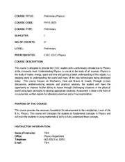 PHYS 0070 course outline revised 2014