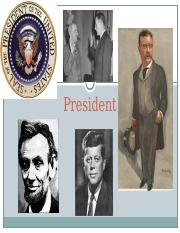 President 1.1 -- Powers of the President.ppt