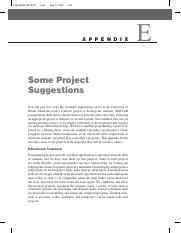 Appendix_E of Palm - Project Suggestions