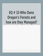 EQ-32-Forest-Management-Ownership-in-Oregon.pptx