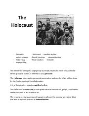 The Holocaust Worksheet docx.docx