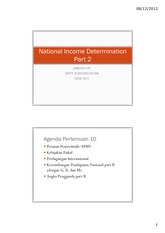 PertemuanX_National Income Determination Part 2_PE
