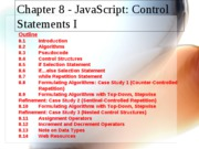 JavaScript - Control Statements 1