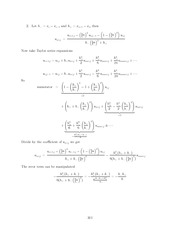 Differential Equations Lecture Work Solutions 301