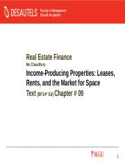 REFIN_MoC_File6_Ch9_Income Producing Properties Leases.ppt