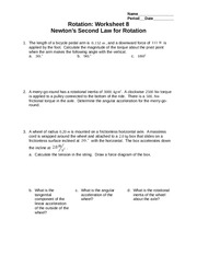 Rotation Worksheet 8