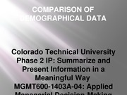 MGMT600-Phase2-IP-Comparison of Demographical Data