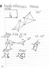 math classnote: triangle reflections part two