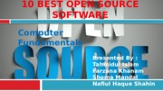 10 Best Open source software