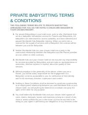 PRIVATE BABYSITTING TERMS.docx