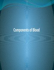 16 Blood Transfusion and blood components ch 16