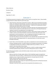 Exercise 4 - General Tests of Evidence and Statistical Reasoning (1)