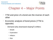 Chapter 4 - Major Points