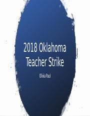 2018 Oklahoma Teacher Strike.pptx