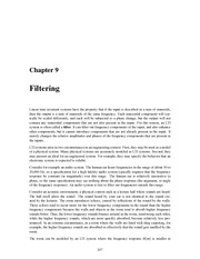 Chapter-09-Filtering
