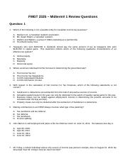 Mid-term 1  Review Questions.doc