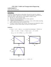 CIVL3610-Assignment2-Solution