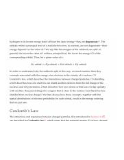 According to Coulombs law how would the electrical force ...