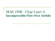 MAE 150B - 04A - Incompressible Flow over Airfoils