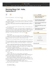 Morning News Call - India, September 27.pdf