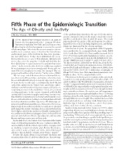 Fifth Phase of the Epidemiologic Transition