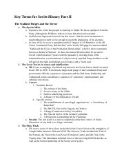 HY 363 - Final Exam Study Guide .docx