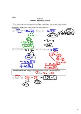 1.3 - Multiplying and Dividing Radicals