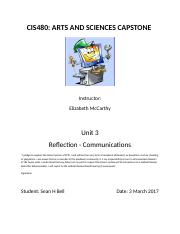 Bell_Unit 3 Reflection - Communication.docx